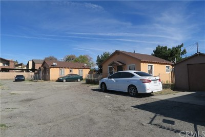 Fontana Multi Family Home For Sale: 16740 Valley Boulevard