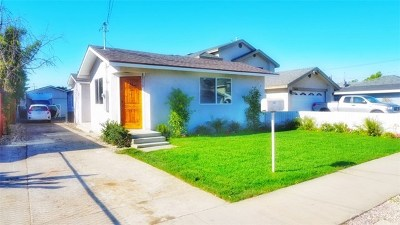 Gardena Single Family Home For Sale: 14927 S Raymond Avenue