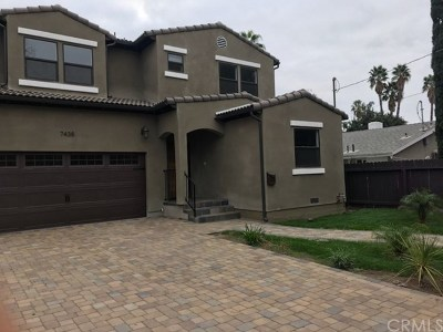 Van Nuys Single Family Home For Sale: 7438 Firmament Avenue