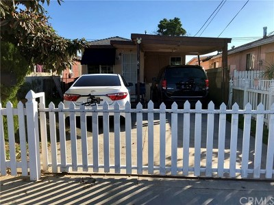 Paramount Single Family Home Active Under Contract: 15332 Hayter Ave