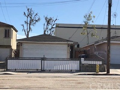 Torrance Single Family Home For Sale: 2140 Del Amo Boulevard