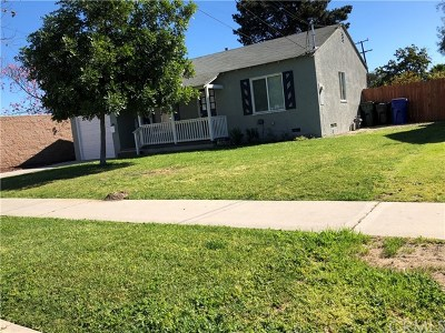 Downey CA Single Family Home For Sale: $505,000