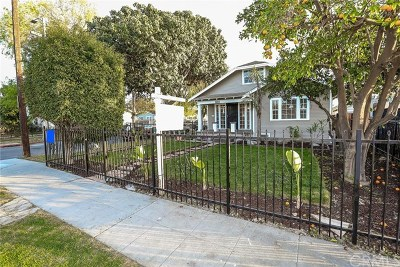 Los Angeles Single Family Home For Sale: 1500 W 69th Street