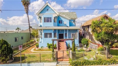 Los Angeles Multi Family Home For Sale: 325 N Fickett Street