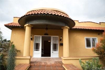 Pasadena Single Family Home For Sale: 1035 E Orange Grove Boulevard