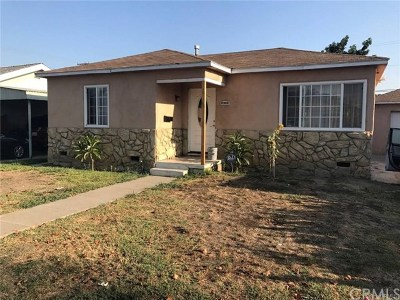 Lynwood Single Family Home For Sale: 5413 Rayborn Street