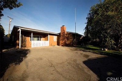 Duarte Single Family Home For Sale: 2054 Capehart Avenue