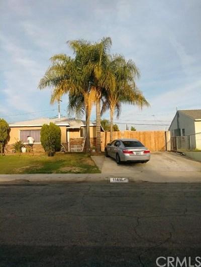 Whittier Single Family Home For Sale: 11416 Leland Avenue