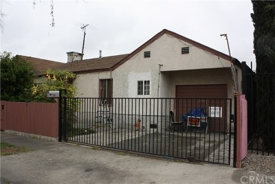 Los Angeles Single Family Home For Sale: 7826 Walnut Drive