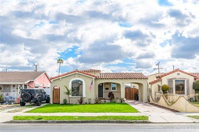 Los Angeles Single Family Home For Sale: 5926 8th Avenue