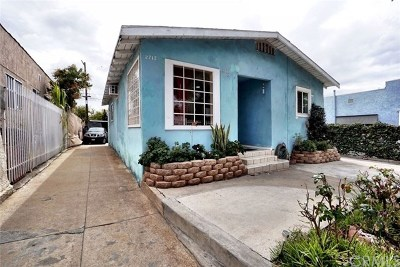 Los Angeles Multi Family Home For Sale: 2710 Pomeroy Avenue