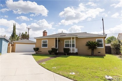 Whittier Single Family Home For Sale: 7718 Clive Avenue