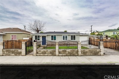 Compton Single Family Home For Sale: 626 W Cressey Street