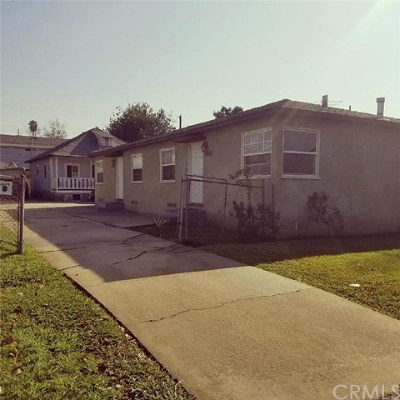 Los Angeles Multi Family Home For Sale: 2822 7th Avenue