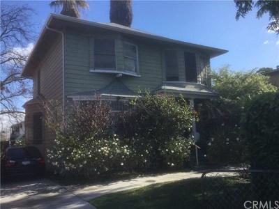 Los Angeles Single Family Home For Sale: 837 E Adams Boulevard