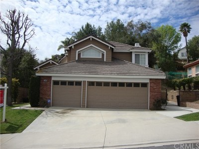 Chino Hills Single Family Home For Sale: 15048 Calle La Paloma