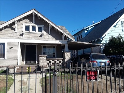 Los Angeles Multi Family Home For Sale: 225 W 56th Street
