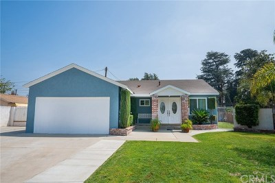 West Covina Single Family Home For Sale: 850 S Greenberry Drive