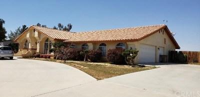 Hesperia Single Family Home For Sale: 18038 Fresno Street