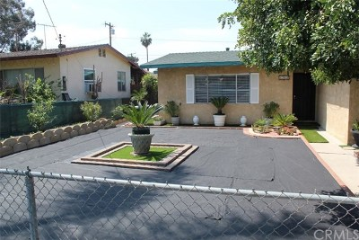 Redlands Single Family Home For Sale: 1713 Clay Street