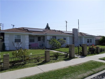 West Covina Single Family Home For Sale: 240 S Homerest Avenue