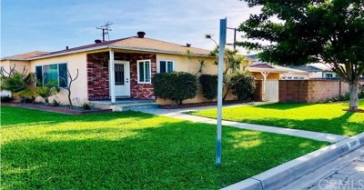 Downey Single Family Home For Sale: 9068 Priscilla Street