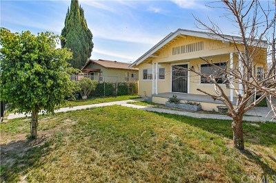 Los Angeles Single Family Home For Sale: 2404 E 114th St