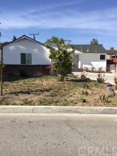 Downey CA Single Family Home For Sale: $635,000