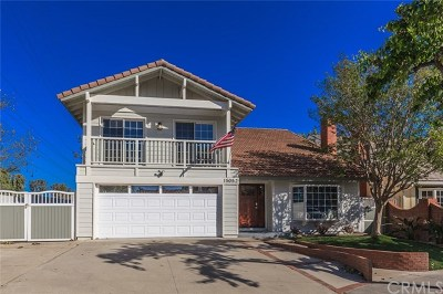 Irvine Single Family Home For Sale: 15052 Glass Circle