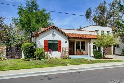 Fullerton Single Family Home For Sale: 143 Rose Drive