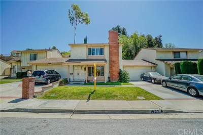 West Covina Single Family Home For Sale: 1922 E Woodgate Drive