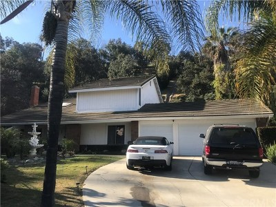 Whittier Single Family Home For Sale: 10840 Amber Hill Drive