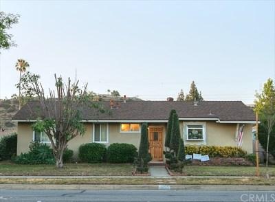 Glendora Single Family Home For Sale: 1055 E Gladstone Street