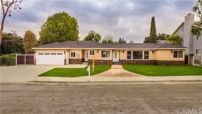 Whittier Single Family Home For Sale: 10305 Starca Avenue