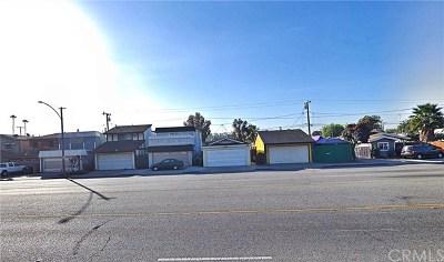 Long Beach Single Family Home For Sale: 160 E Del Amo Boulevard