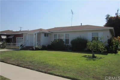 Whittier Single Family Home For Sale: 10908 Winchell Street
