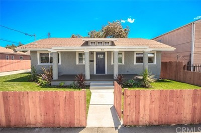 Los Angeles Single Family Home For Sale: 816 W 120th Street