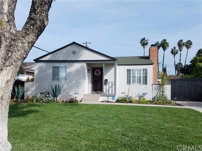 Downey Single Family Home For Sale: 11608 Pruess Avenue