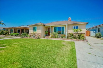 Whittier Single Family Home For Sale: 13837 Lanning Drive