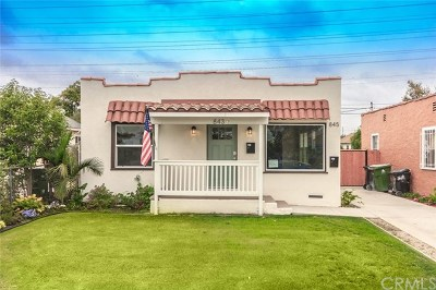 Los Angeles Multi Family Home For Sale: 843 E 99th Street