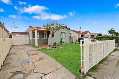 Los Angeles Single Family Home For Sale: 6319 4th Av