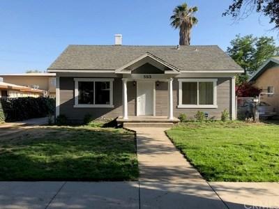 San Bernardino Single Family Home For Sale: 563 W 21st Street