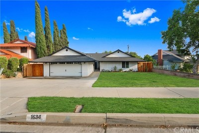 Covina Single Family Home For Sale: 1634 E Retford Street