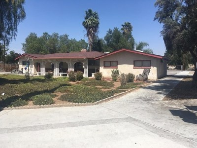 Moreno Valley Single Family Home For Sale: 14740 Perris Boulevard