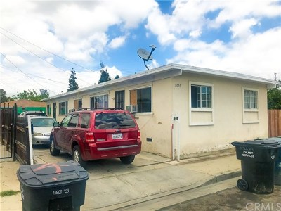 Paramount Multi Family Home For Sale: 14926 Indiana Avenue