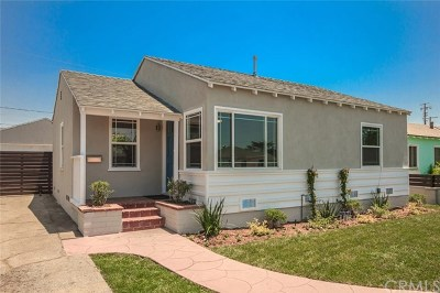 North Hollywood Single Family Home For Sale: 6038 Ensign Avenue