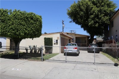 Compton Multi Family Home For Sale: 1301 E Oaks Street