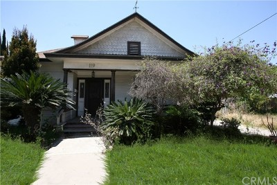 Compton Single Family Home For Sale: 119 S Willow Avenue