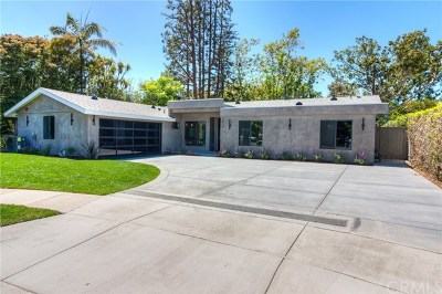 Newport Beach Single Family Home For Sale: 2017 Centella Place