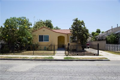 Long Beach Single Family Home For Sale: 2320 Lime Avenue